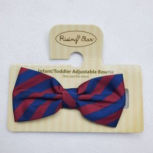 NWT Rising Star Infant/Toddler Bow tie